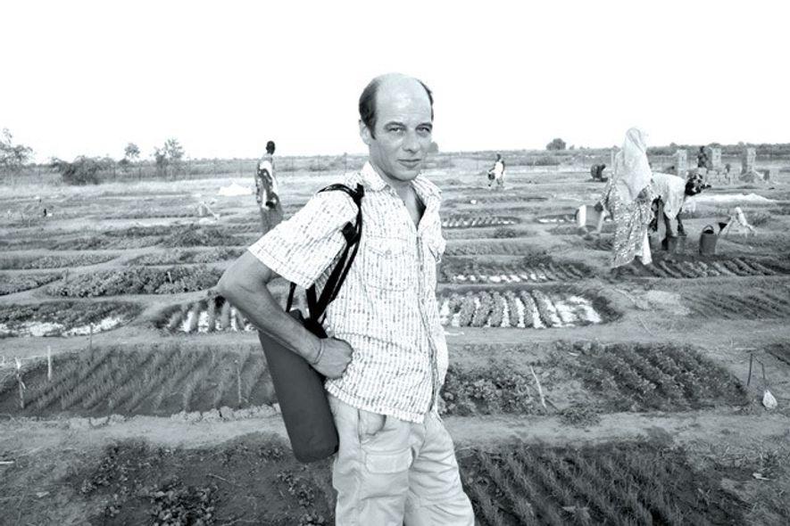 Peter Hudson in Kenieba Fields