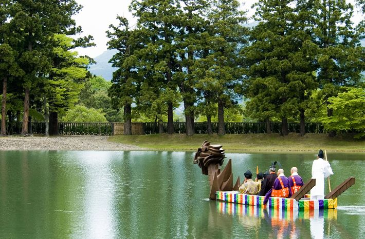 The ancient city of Hiraizumi, with its ancient temples and vast, glassy lakes once rivalled Kyoto ...