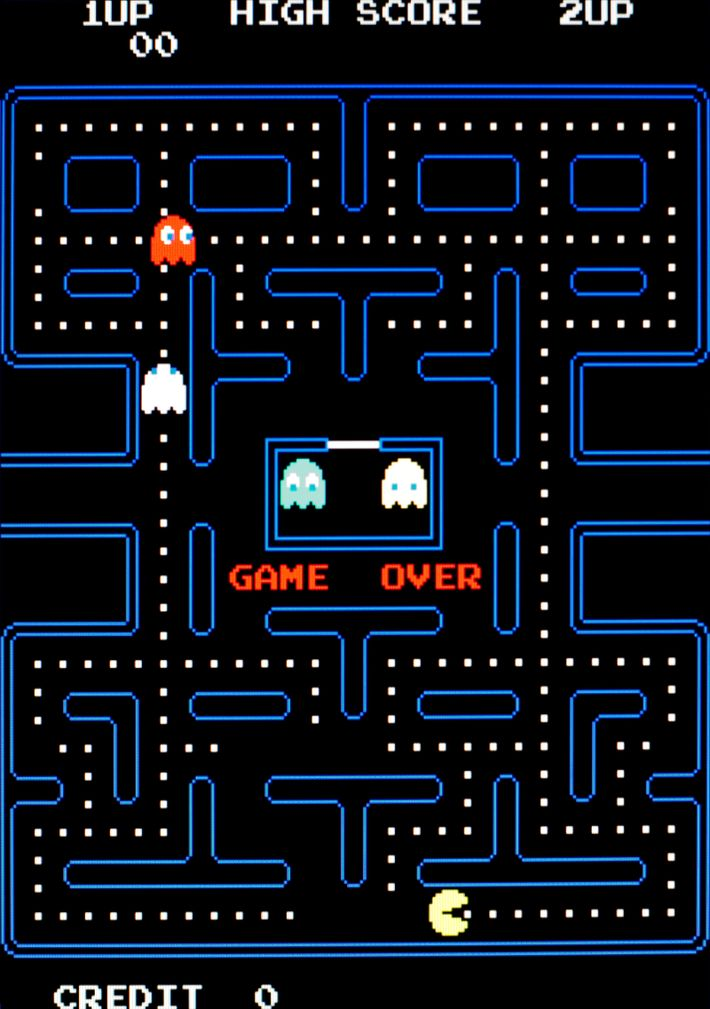 Namco's Pac Man, released in 1980, was a 'maze chase' game that spawned an array of ...