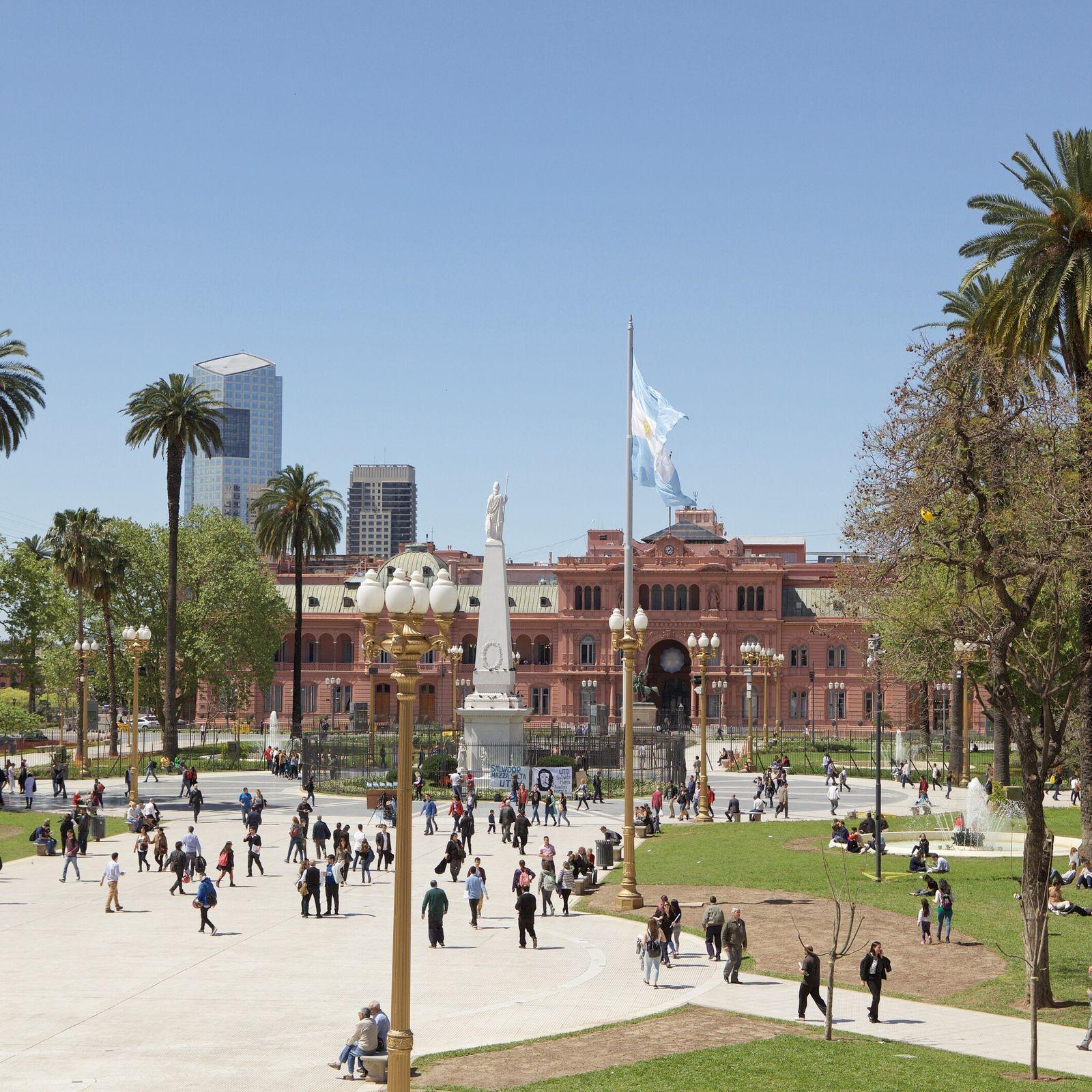 Palacio Barolo on Avenida de Mayo, Buenos Aires.