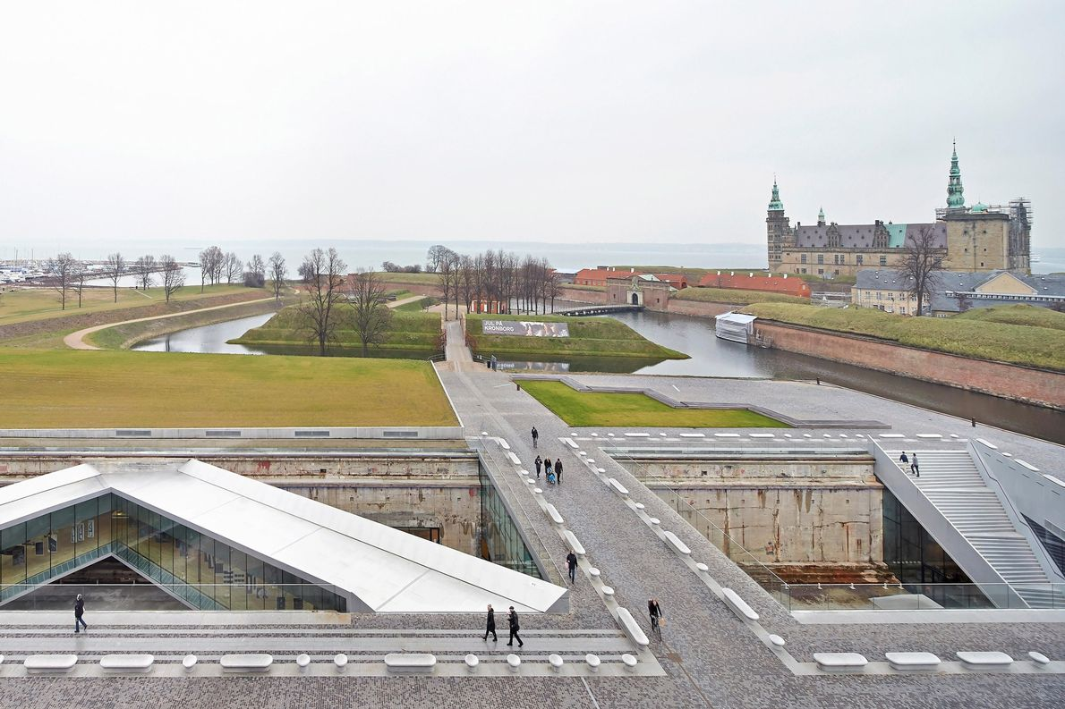 Built by BIG (Bjarke Ingels Group), this Danish museum is situated in the town of Helsingør …