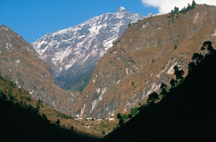The Myagdi District of Nepal, near Dana, where Nims Purja was born – in the shadow ...