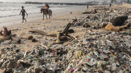 Bali fights for its beautiful beaches by rethinking waste, plastic trash
