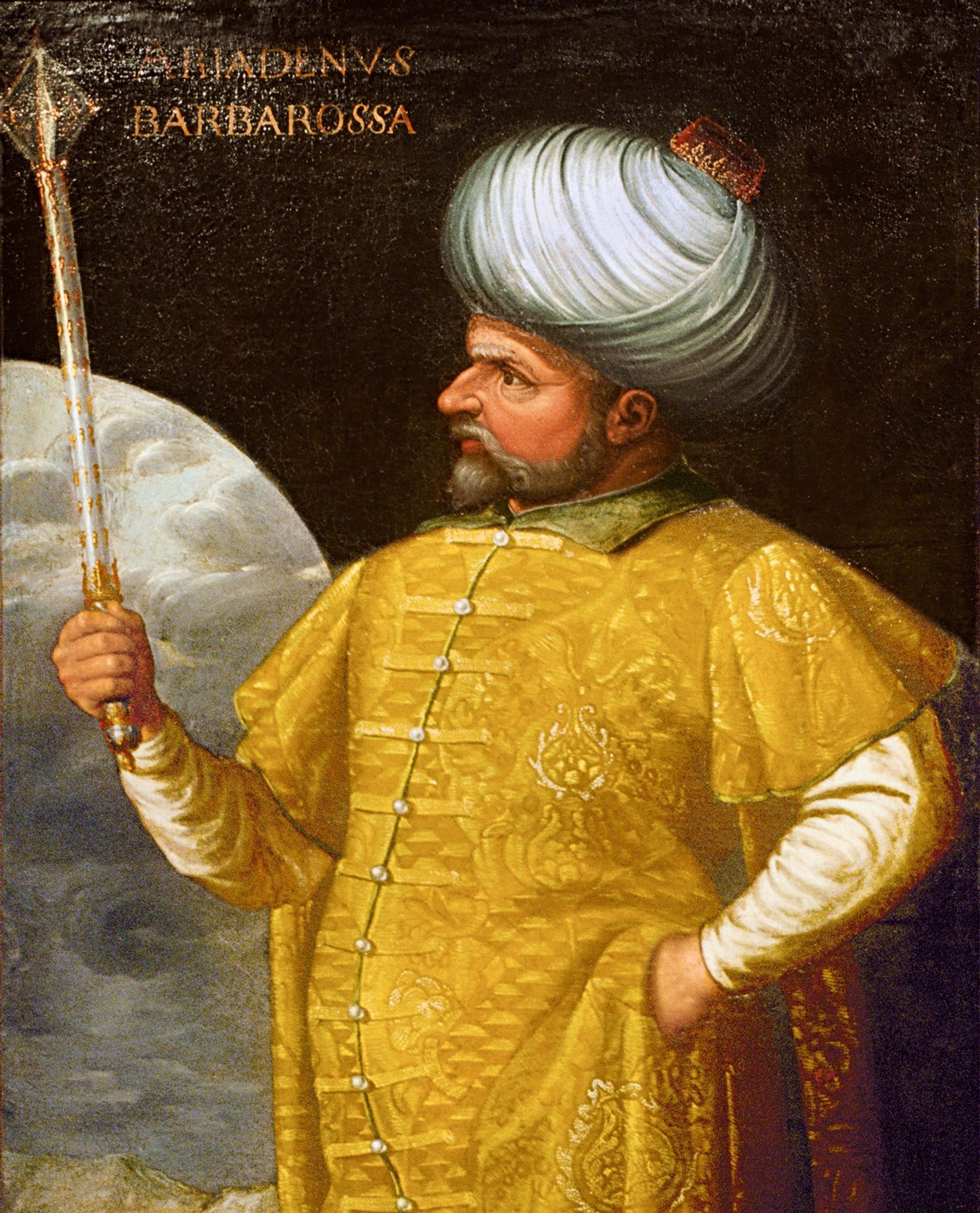 "Hayreddin's brother Oruç was the first to be known as Barbarossa. His nickname was ""Father Oruç,"" ..."