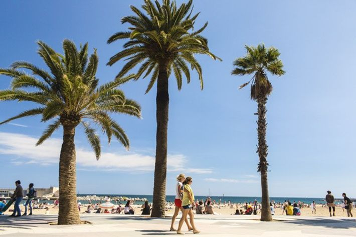 Barceloneta Beach. Image: Getty