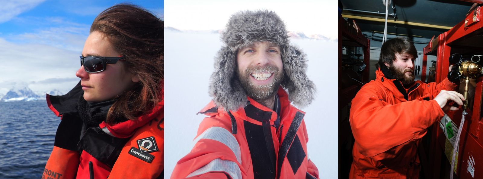 Aurelia Reichardt, John Law and Richard Warren have all, as employees of the British Antarctic Survey, ...