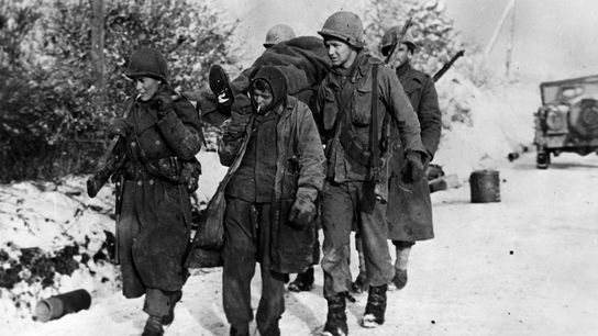 The tide had turned in the battle when, in early January, a German prisoner helped Third ...