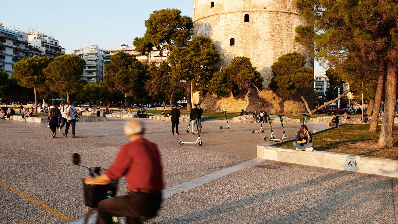 White Tower of Thessaloniki.