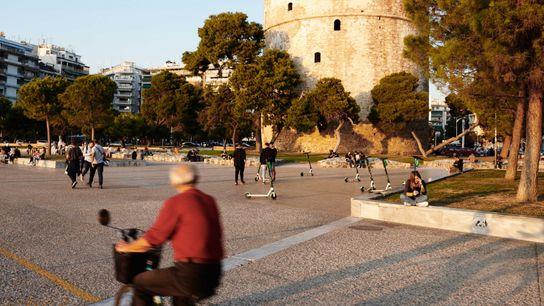 White Tower of Thessaloniki.