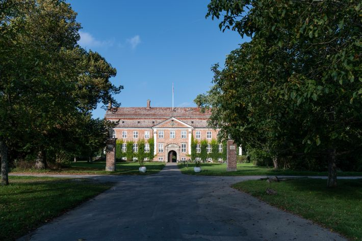 The main building of Svanholm is a centuries-old manor house located around 34 miles west of ...