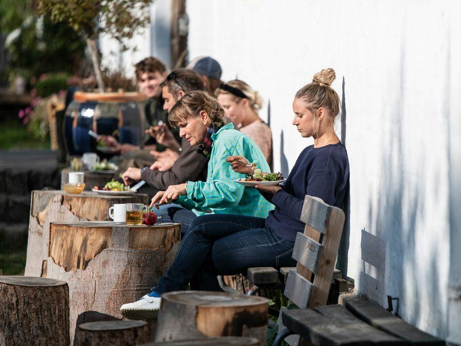 Breaking bread: dining in a Danish commune