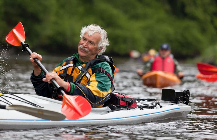 Dean Dougherty is the lead guide at Knight Inlet Lodge, an eco-retreat in the heart of ...