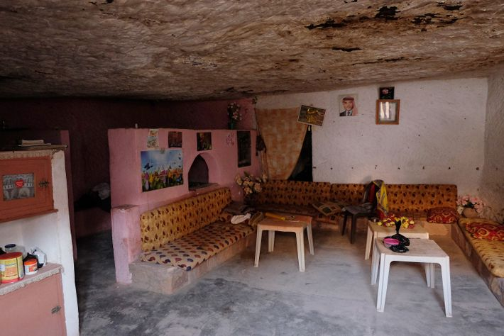 A cave becomes a cosy, spacious home.