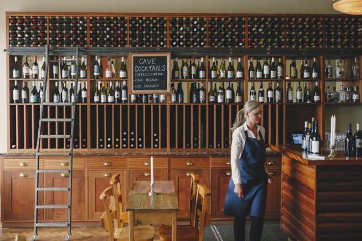 Ox Cave wine bar. Image: Chris Copeland