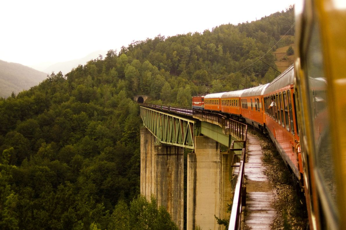 On Belgrade to Bar, riders experience 254 tunnels and 435 bridges on a 296-mile trip from ...