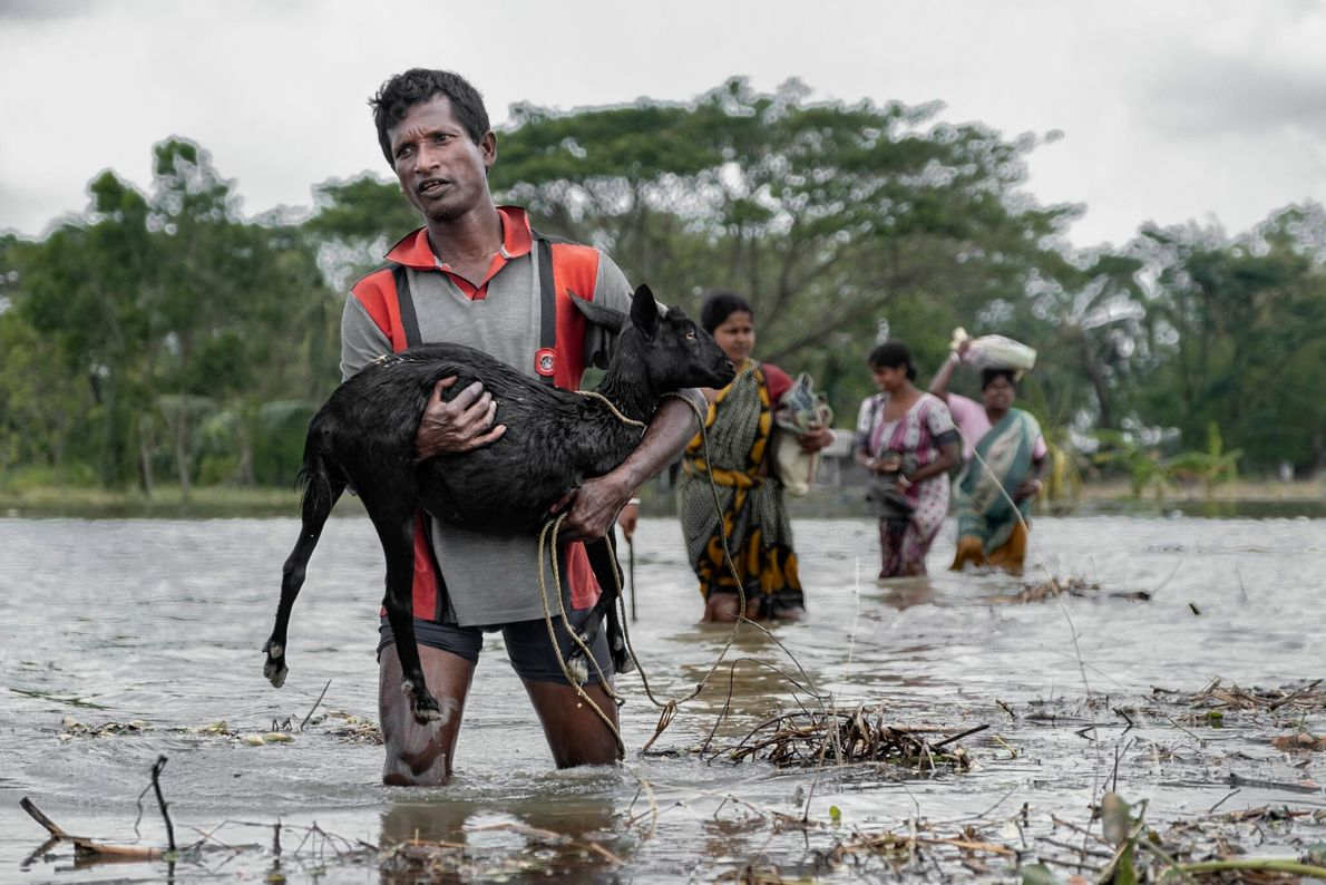 A devastating super cyclonic storm hit Eastern India and Bangladesh in May, killing dozens and leaving ...