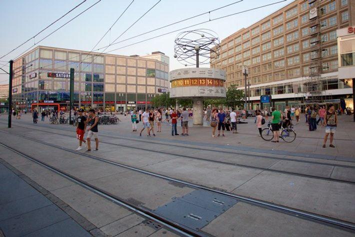 Alexanderplatz, Berlin. Image: Paul Sullivan