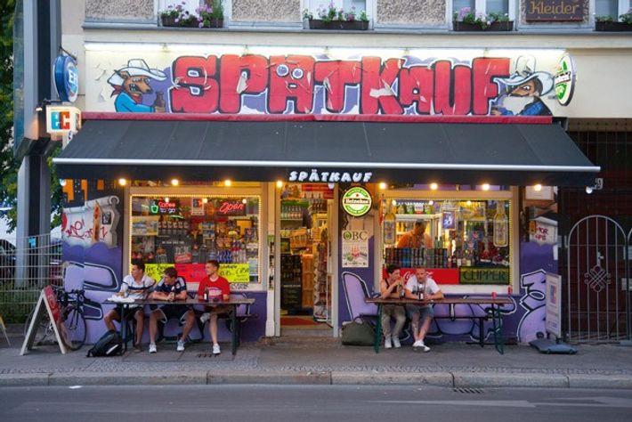 Späti, Berlin.