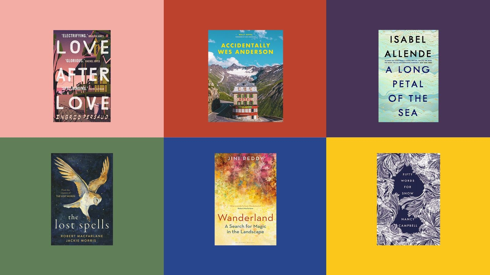 From Nancy Campbell's Fifty Words for Snow to Accidentally Wes Anderson by Wally Koval, we highlight the books ...