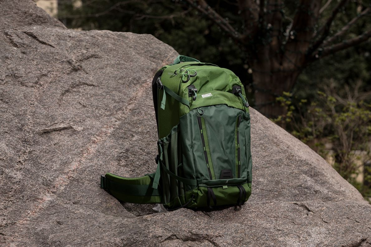The most traditional camera bag on our list, the Backlight 26L is a standard back access …