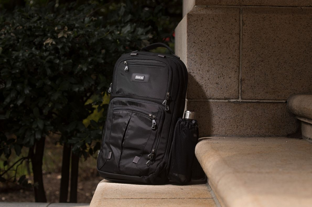 A certain transforming, giant robot theme song comes to mind when reviewing this backpack. The ingenious …