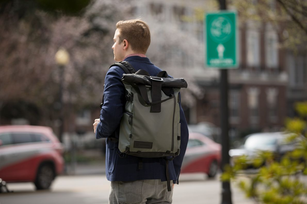 A crowdfunding success, the new Prvke backpack's subtle looks, durable outer shell, and expandable capacity make …