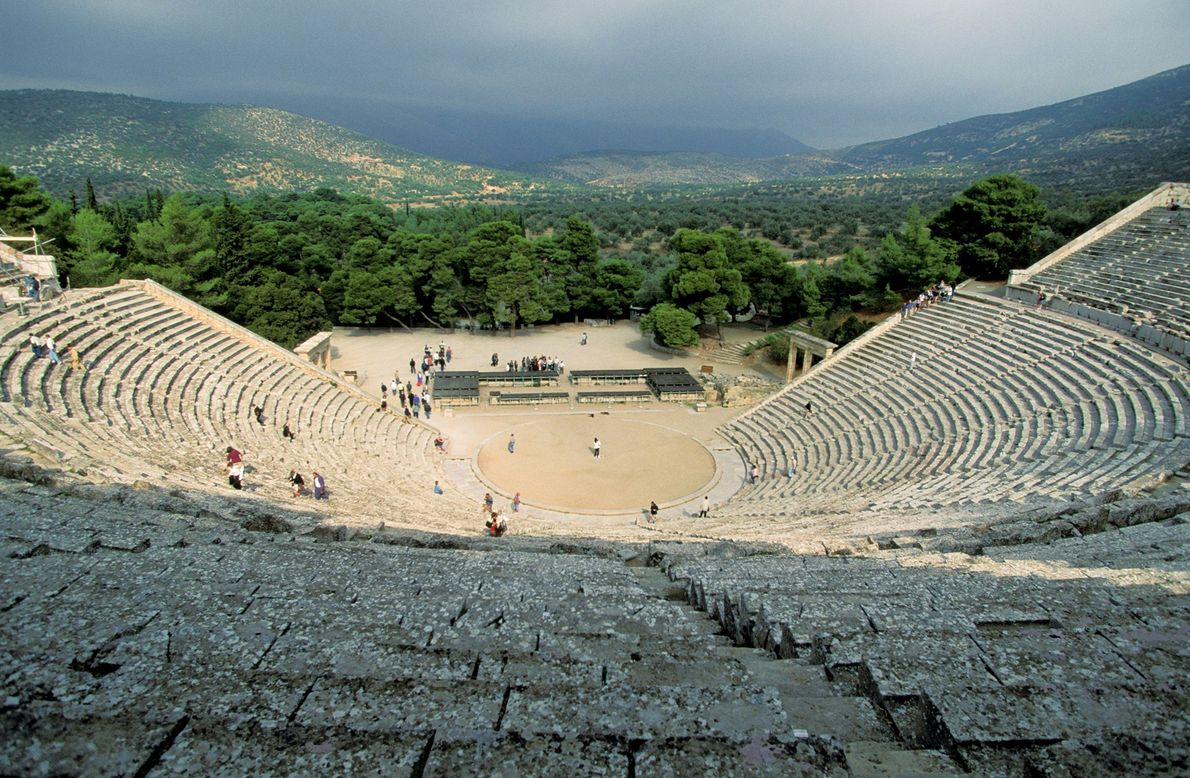 Epidaurus: Great Theater of Epidaurus