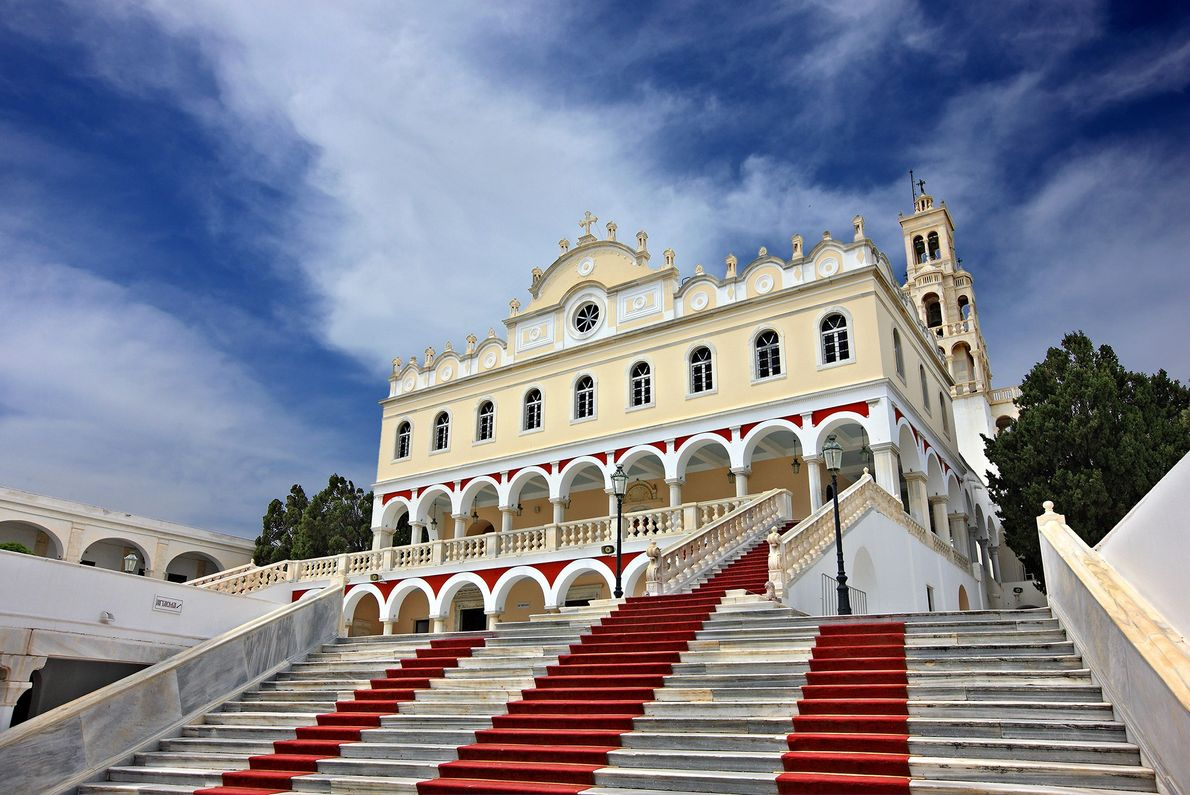 Tinos: Our Lady of Tinos Church
