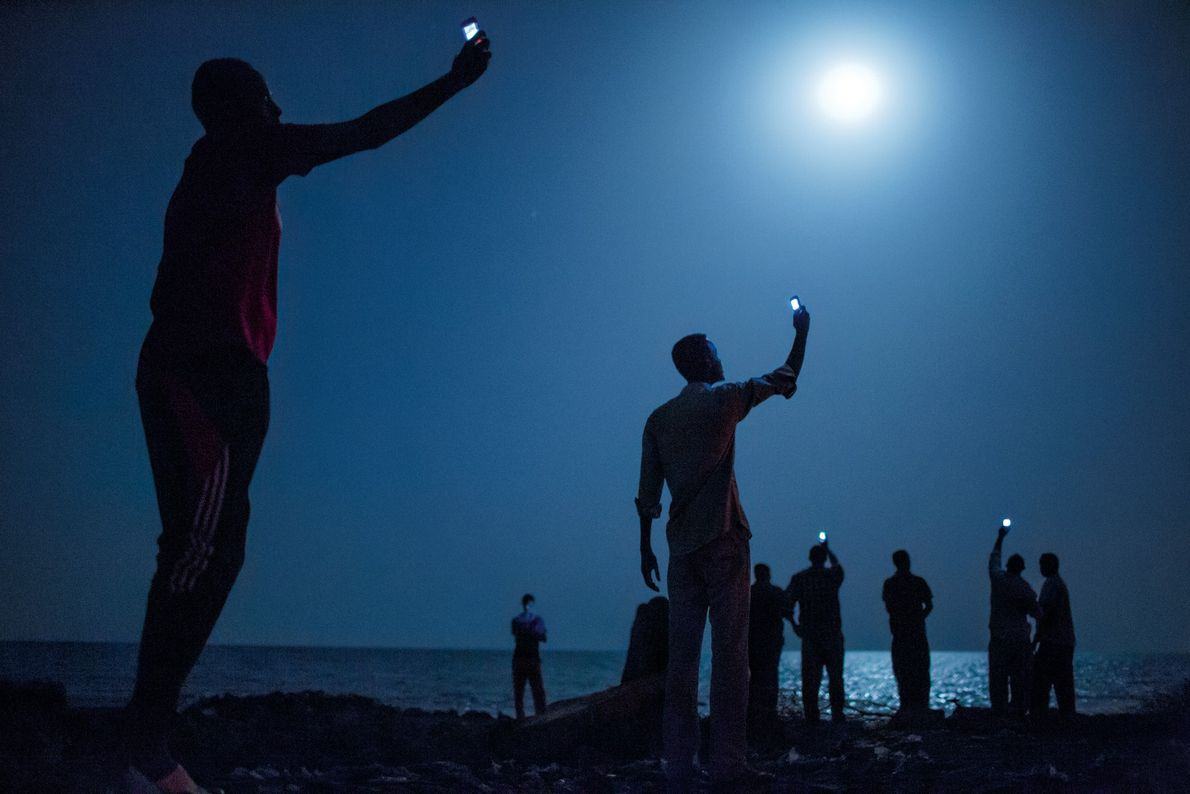 DJIBOUTI, Djibouti In early 2013 National Geographic writer Paul Salopek took the first steps, literally, in a ...