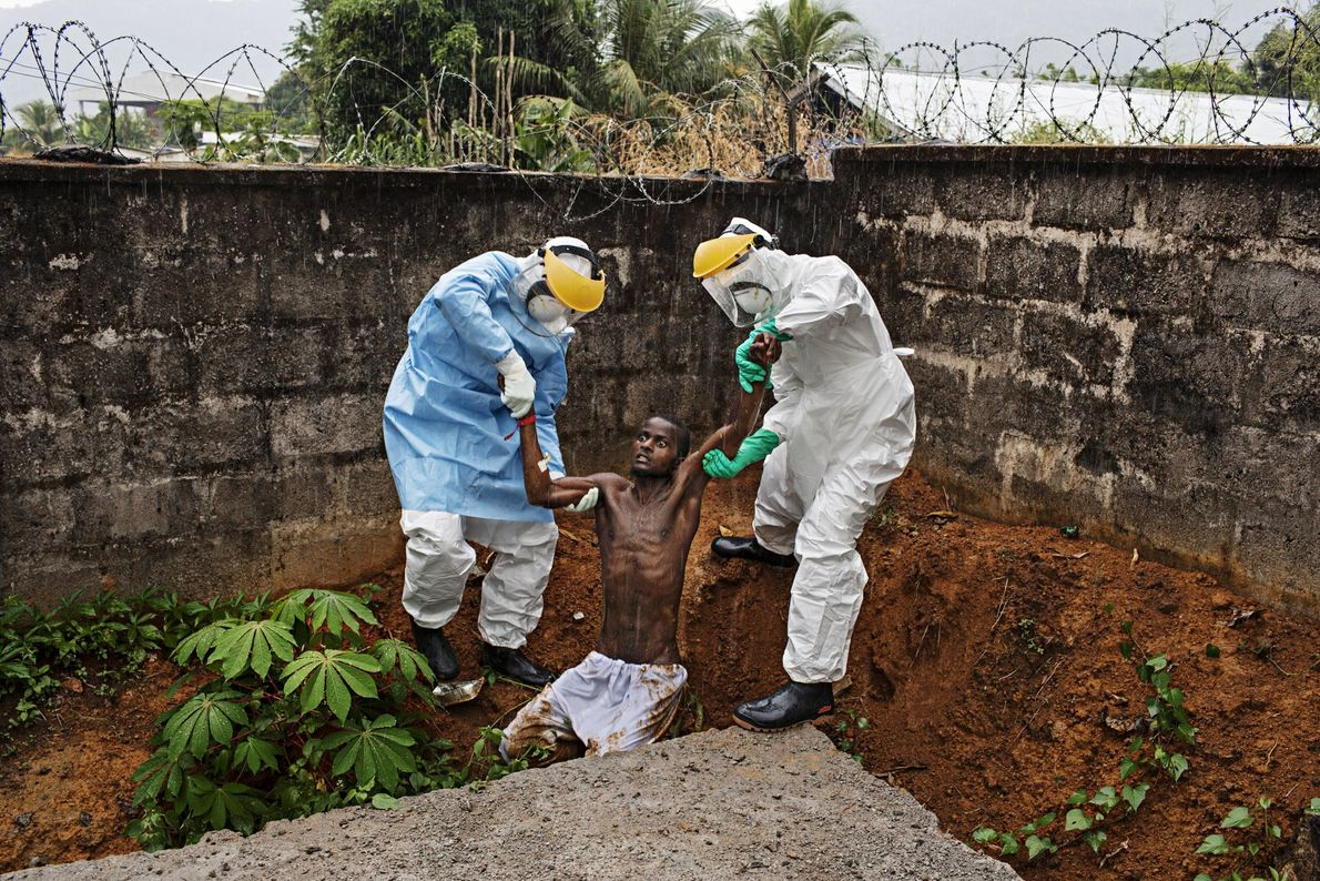 """HASTINGS, Sierra Leone """"This image haunts me like few others,"""" photographer Pete Muller says. On assignment in ..."""