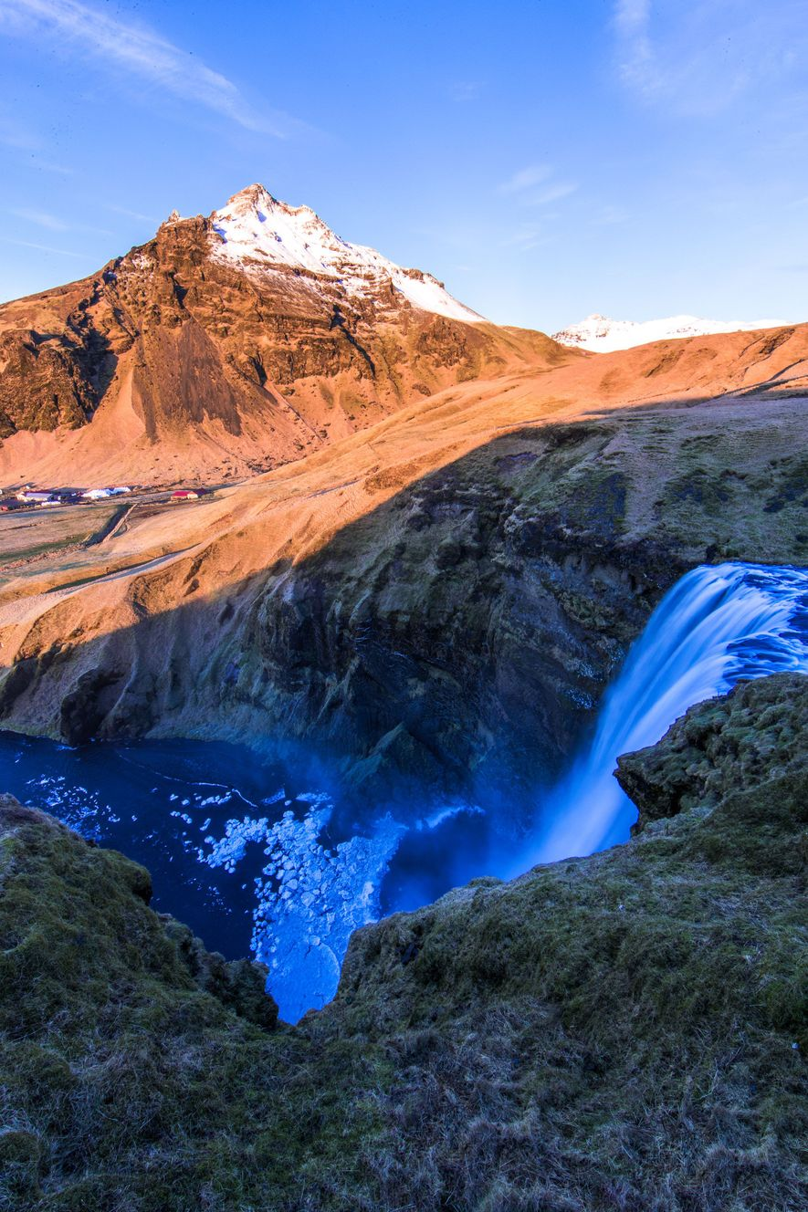 Skógafoss is one of Iceland's most iconic waterfalls.
