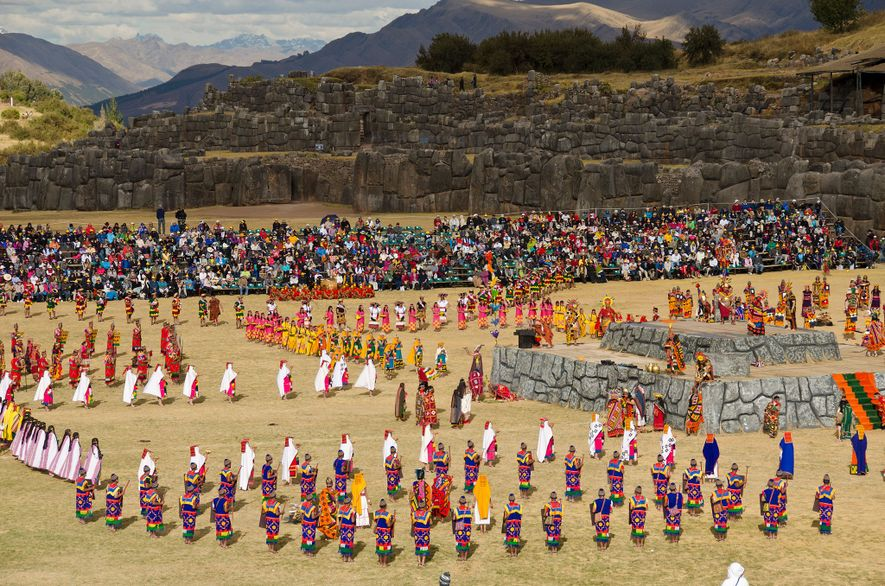 Peru's traditional Inti Raymi festival climaxes on June 24.