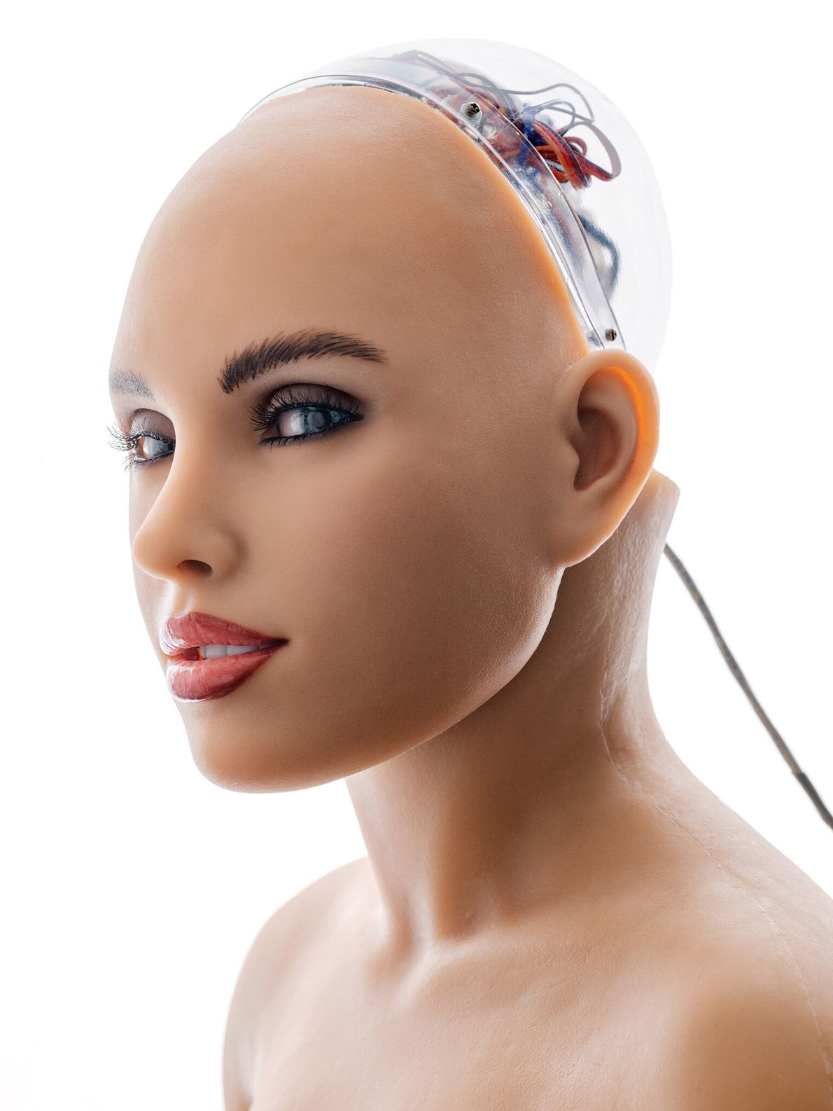 Some roboticists create machines that imitate and resemble humans in detail. An example is Harmony, an ...