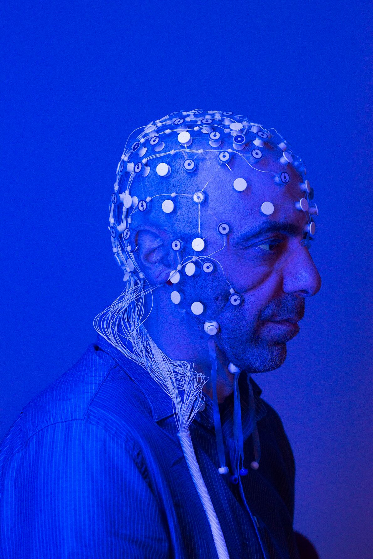 Vitaly Napadow, a neuroscientist at Harvard Medical School and Massachusetts General Hospital, studies how the brain ...