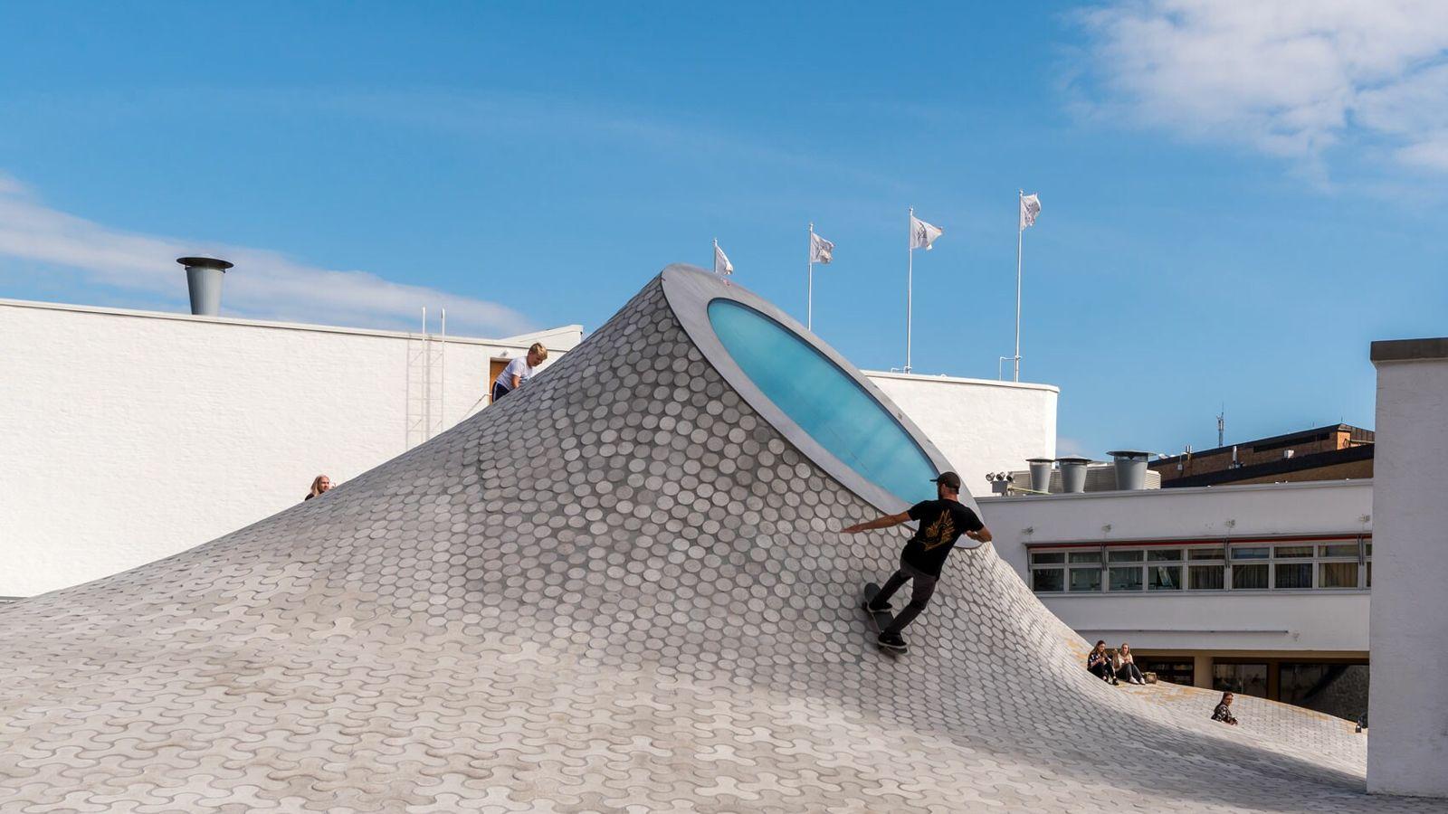 Amos Rex contemporary art gallery, Helsinki.