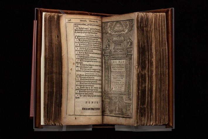 Publication of the King James Bible in 1611 set the standard for English Scripture for some ...