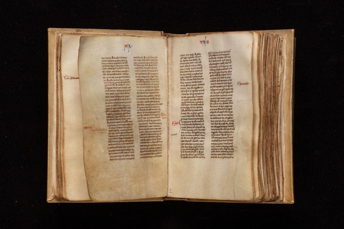 Pocket-size Latin New Testament circa 1300.