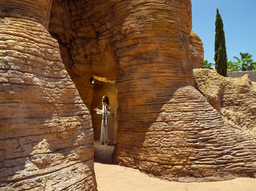 "Billing itself a ""living biblical museum,"" the Holy Land Experience in Orlando features period reenactors and ..."