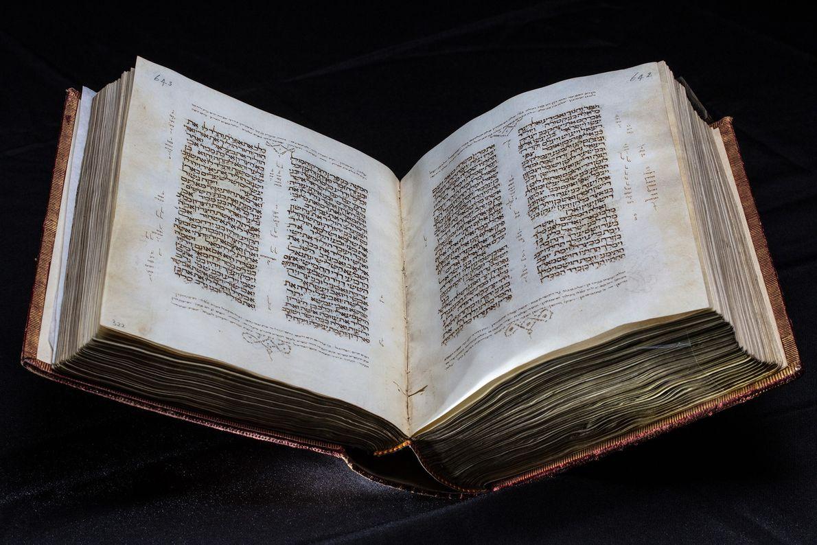 Seville Bible in Hebrew, 1468.