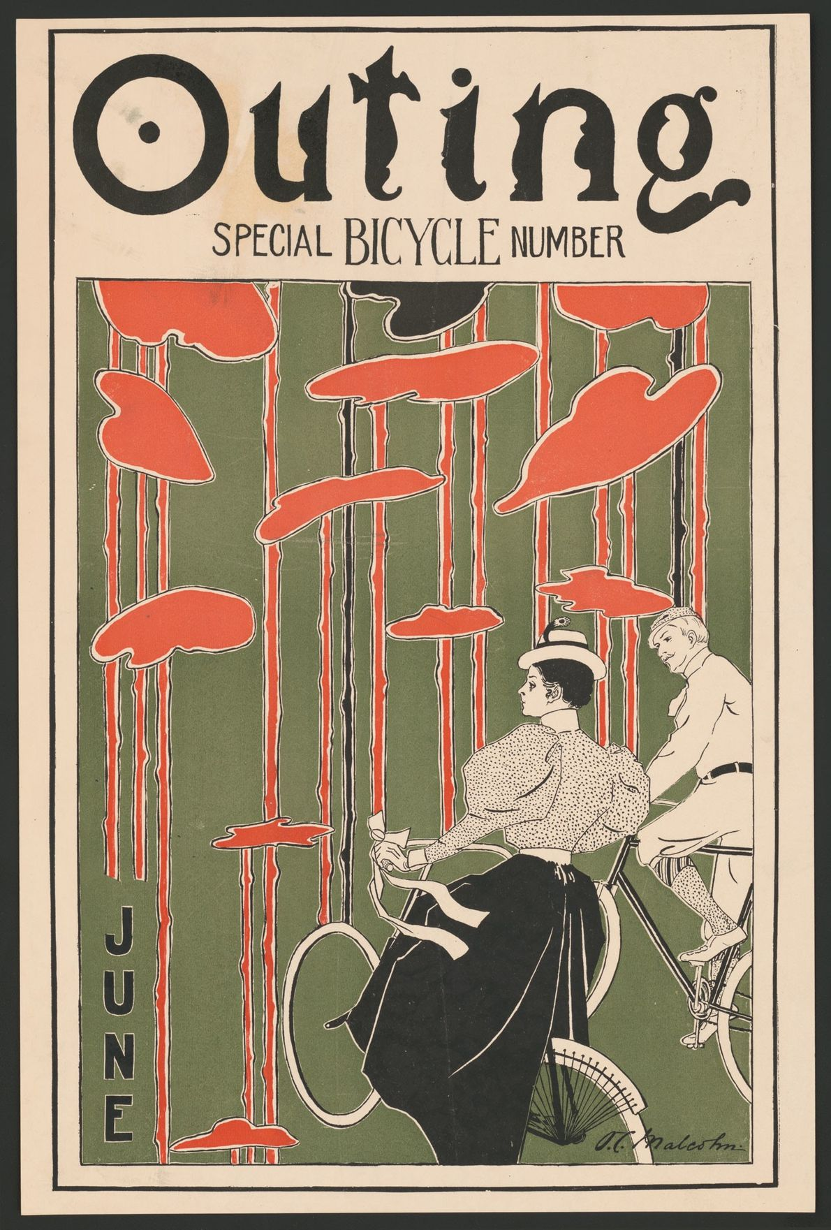 One of America's earliest sporting magazines, Outing devoted many of its pages to cycling. The cycling ...