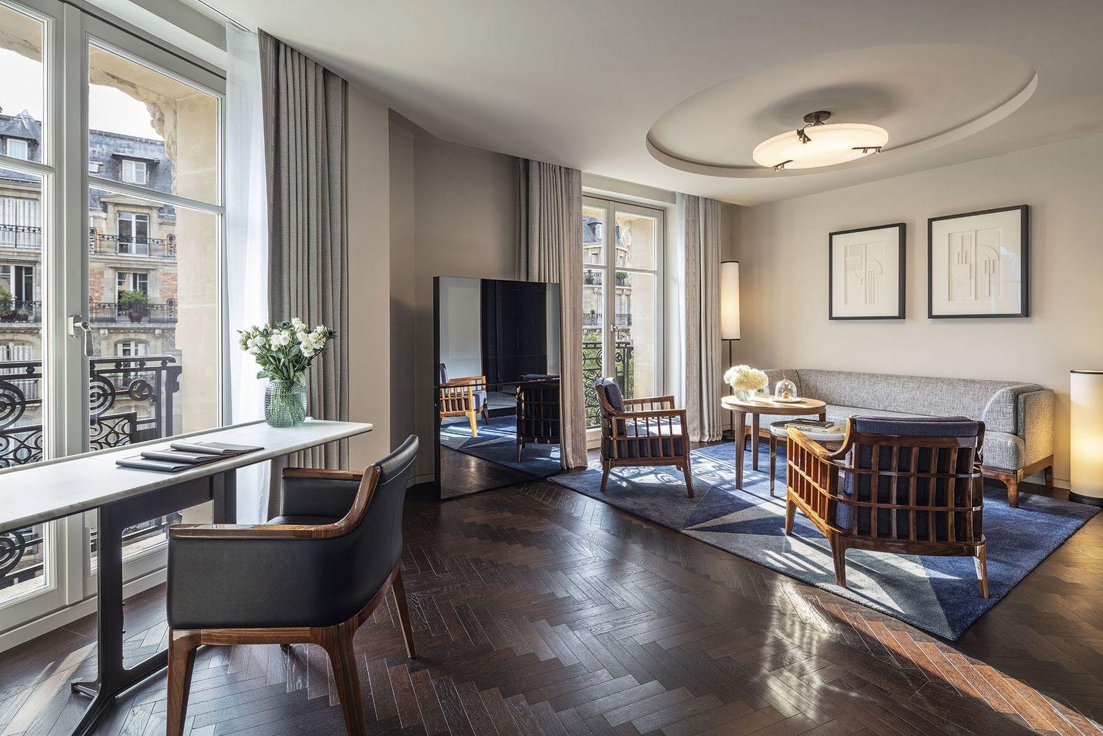 Hotel Lutetia, Paris.