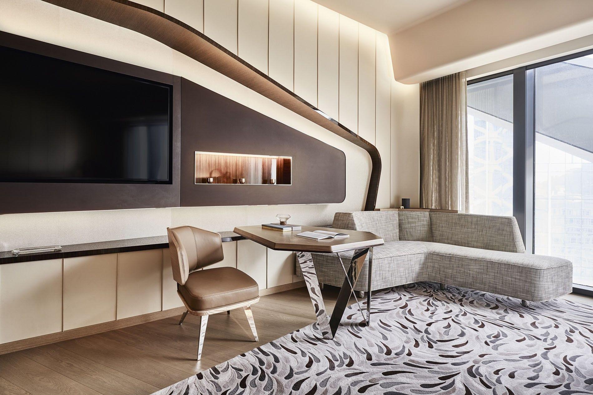 Guest room, Morpheus, Macau.