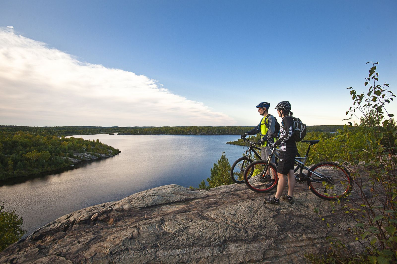 Some of Ontario's best bike trails can be found in the northern part of the province. ...