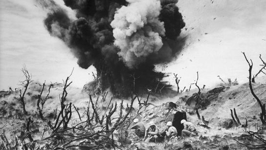 Among the most brutal battles of World War II in the Pacific, the Battle of Iwo ...