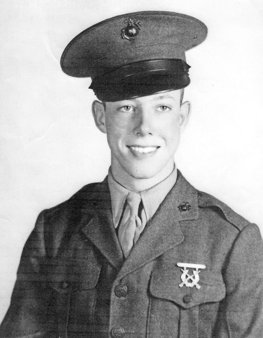 Bill Montgomery was 18 years old when he entered Marine Corps boot camp. Now 95, he ...