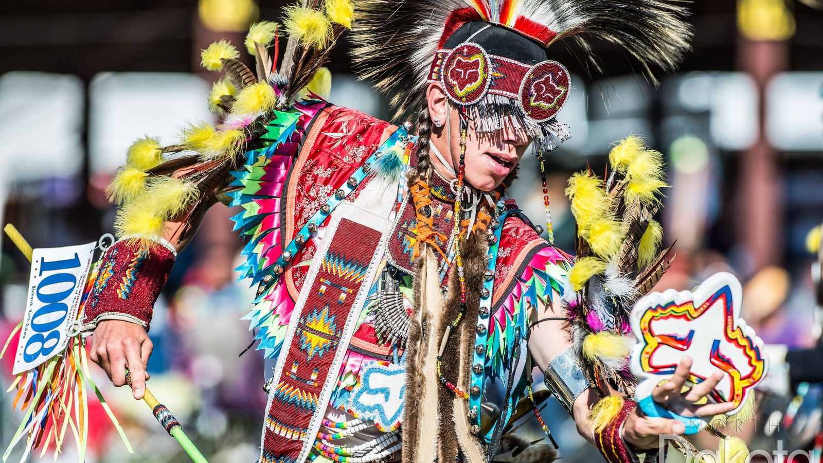 The United Tribes International Powwow in Bismark, North Dakota, known as the Home of the Champions.