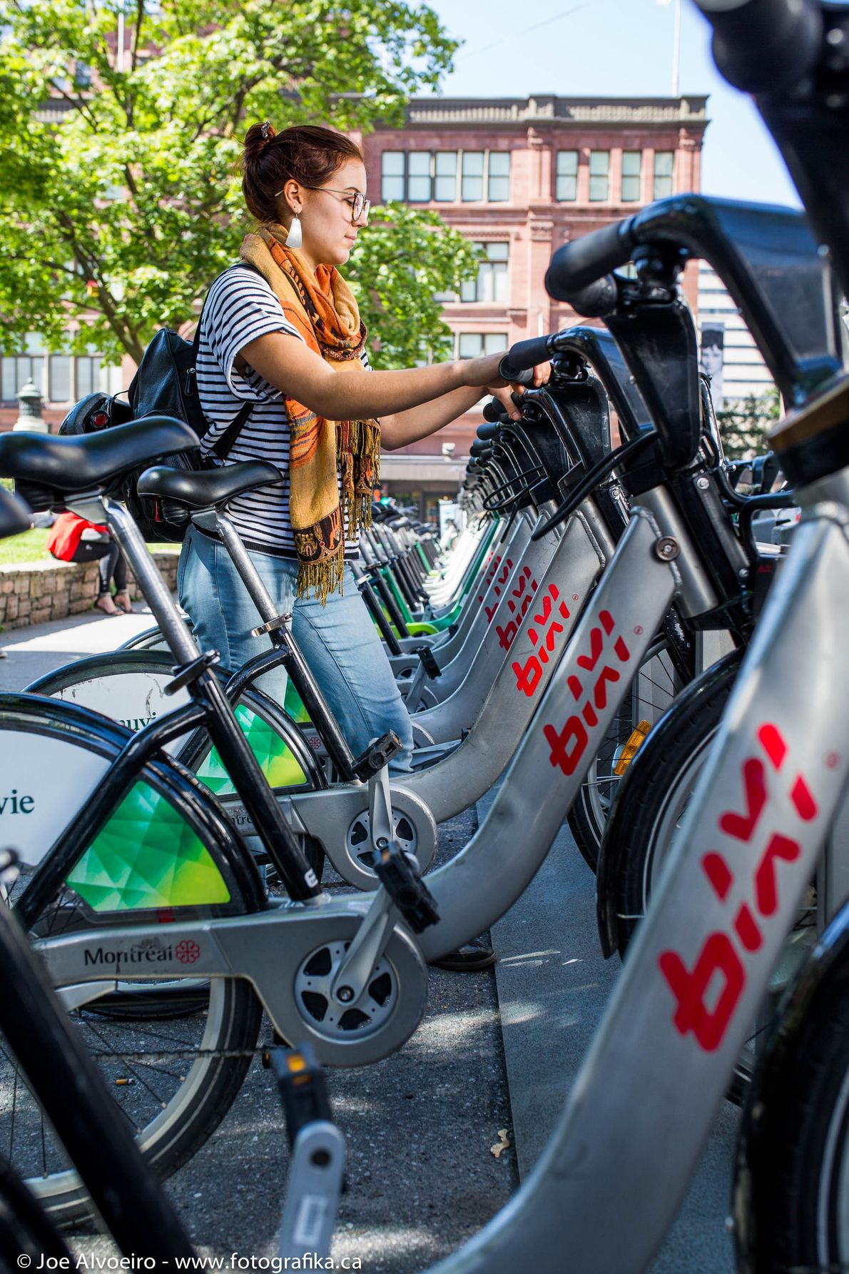 BIXI Montreal is a public bike-sharing system and offers visitors the opportunity to see the city ...