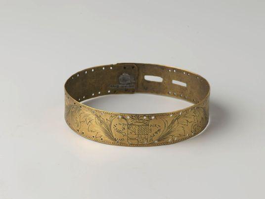 Dog collar or slave collar? A Dutch museum interrogates a brutal past.