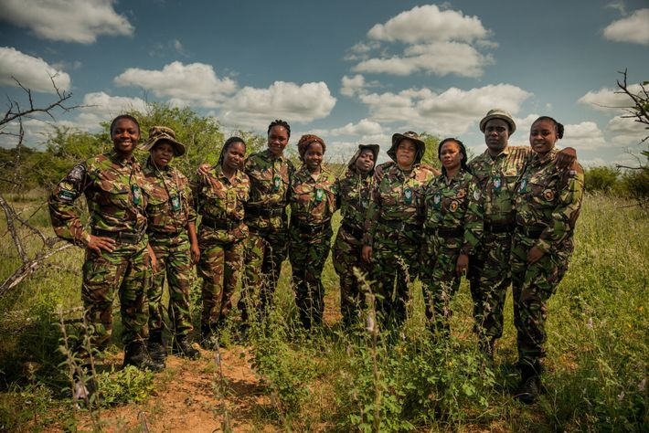 """Before the Black Mambas were founded in 2013,poachers would enter the reserve regularly. """"We've reduced that ..."""