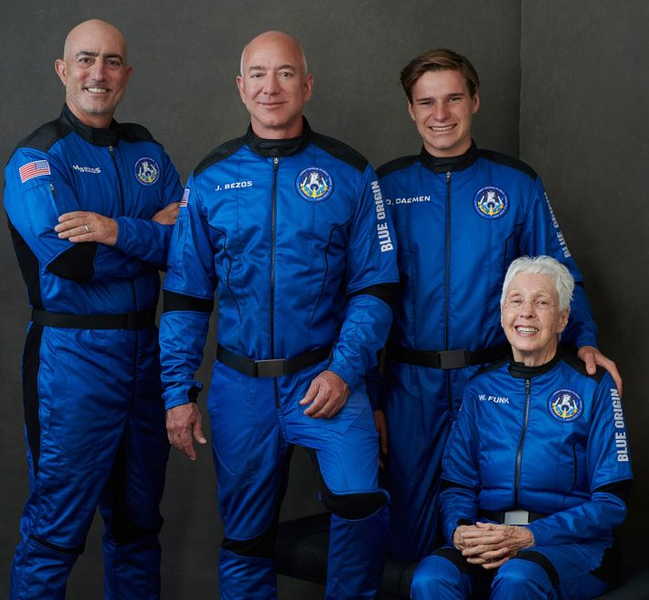 Blue Origin Crew